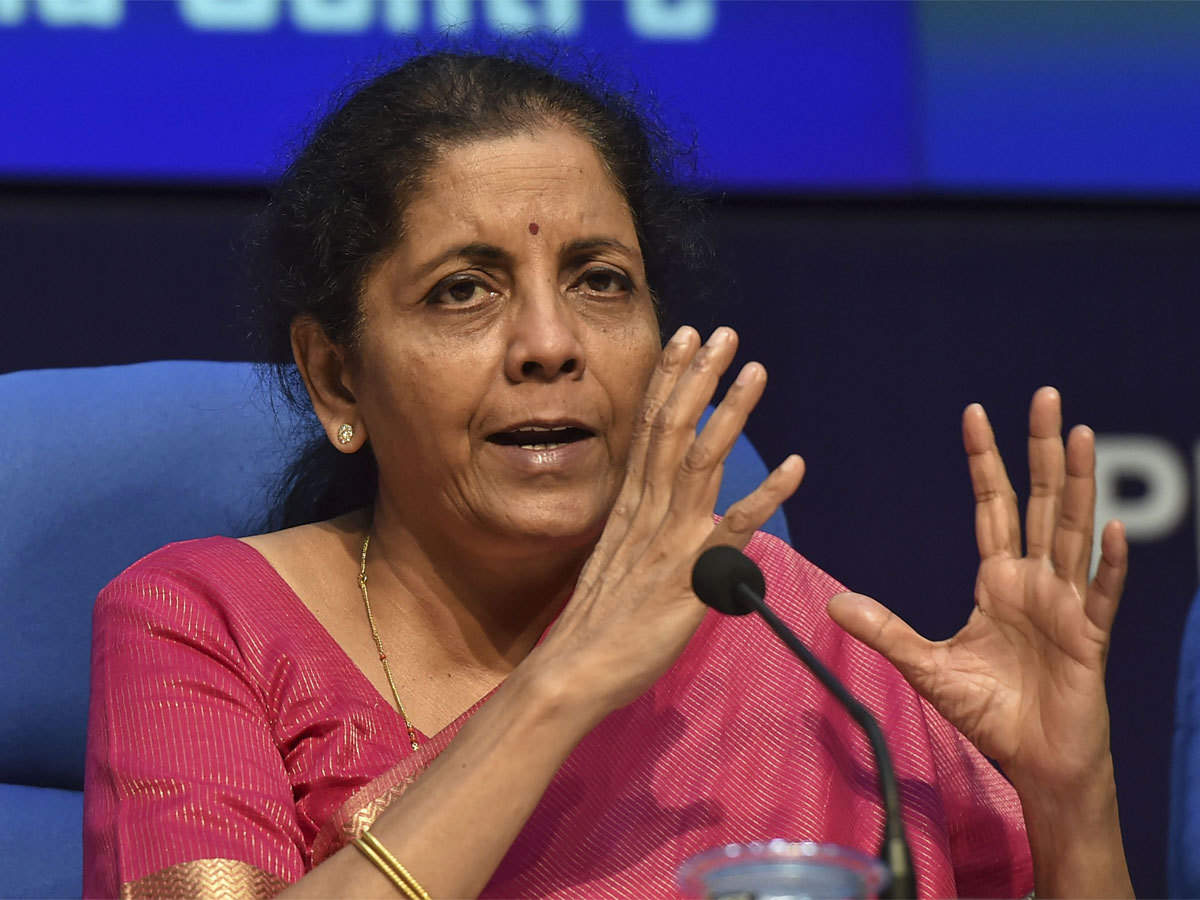 Reforms, disinvestment to continue at brisk pace: Nirmala Sitharaman